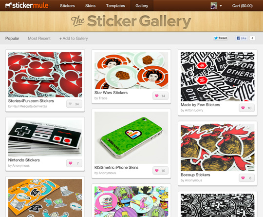 Sticker Mule Gallery